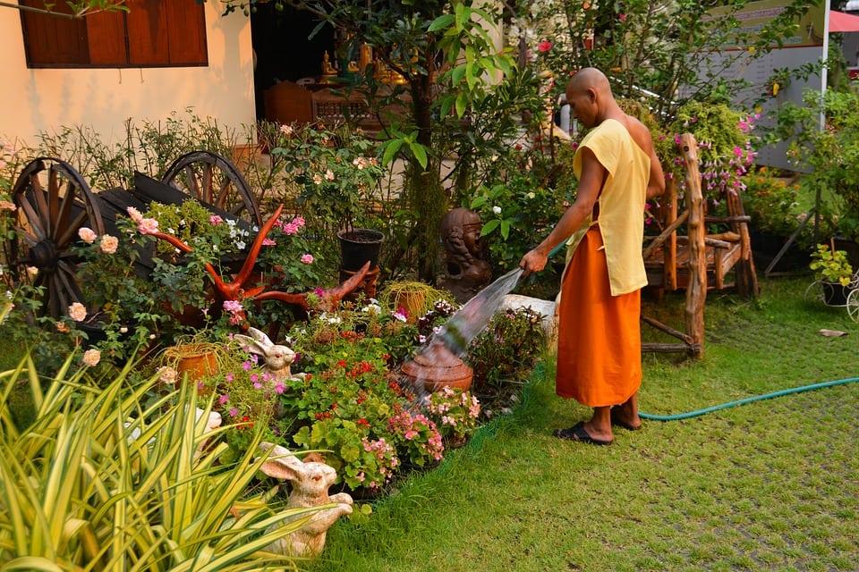 reduce stress, gardening